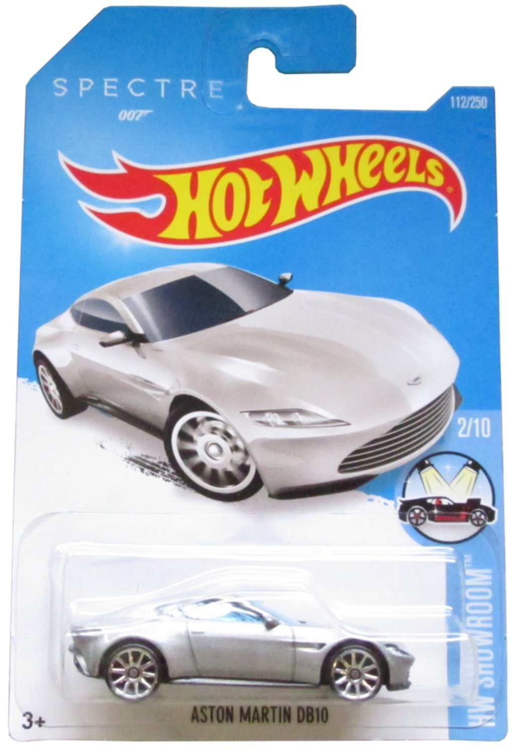 Hot Wheels, 2016 HW Showroom, James Bond 007 Spectre Aston Martin DB10 [Silver] 112/250