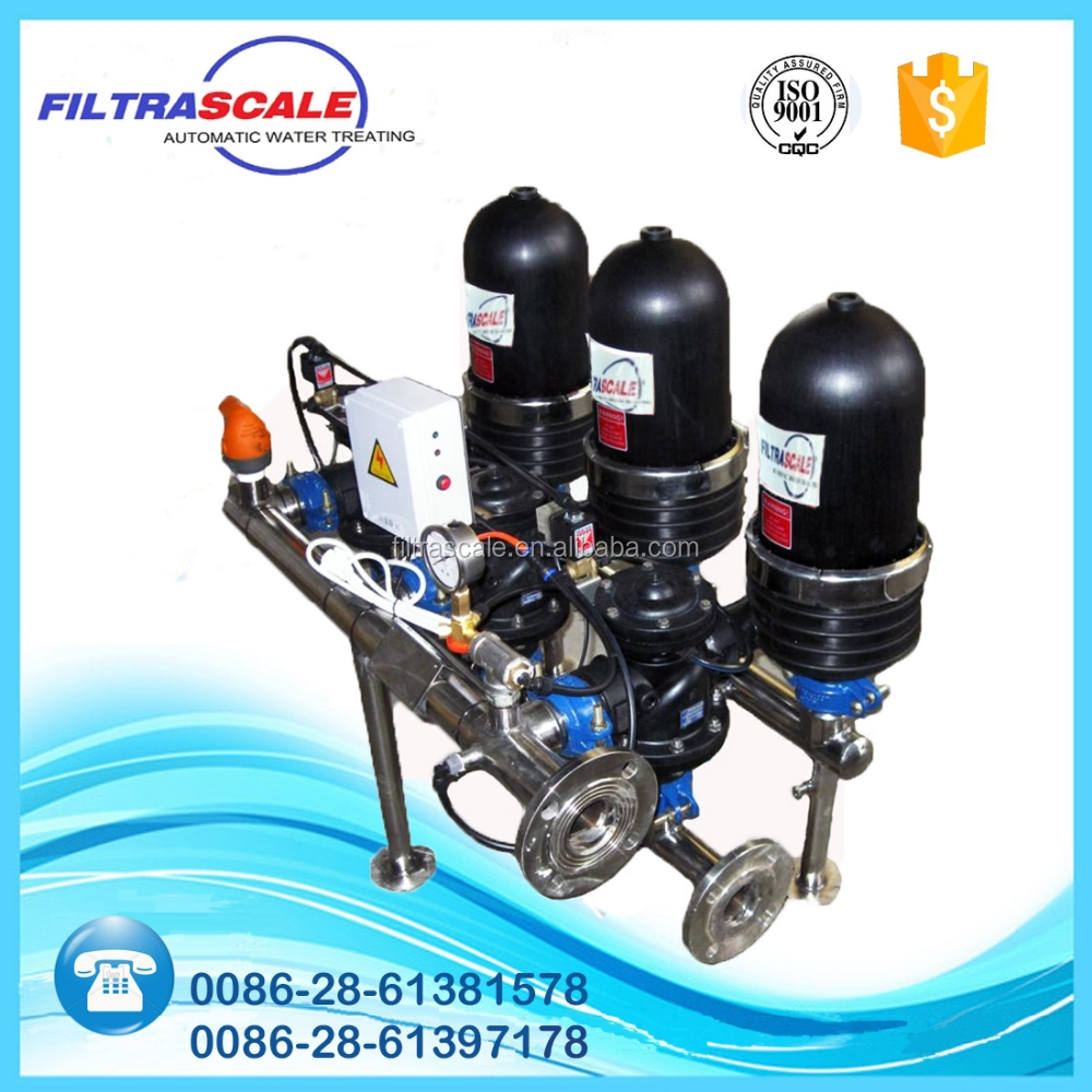 automatic self-cleaning diatomite water filter