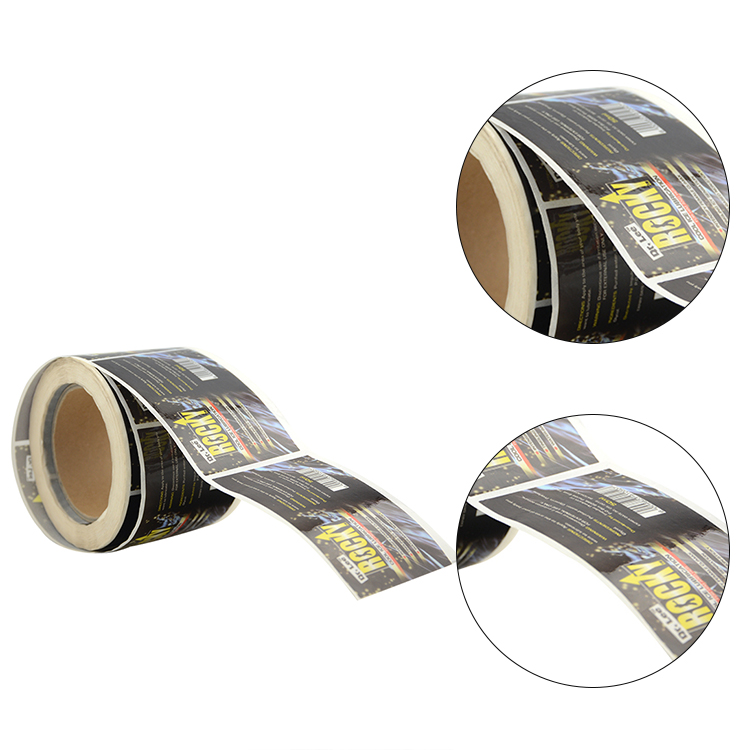 pvc sticker paper sheets glossy sticker paper