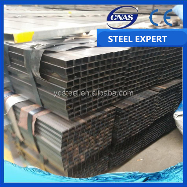 china hebei tangshan astm a53 1/2 inch to 8 inch welded steel round pipe / erw carbon black painted steel pipe / iron steel pi