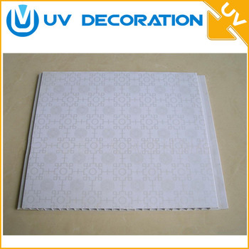Lebanon Plastic Material Faux Plafonds En Pvc Wall Panel For Bedroom