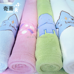 free sample high quality super soft baby coral fleece blanket wholesale