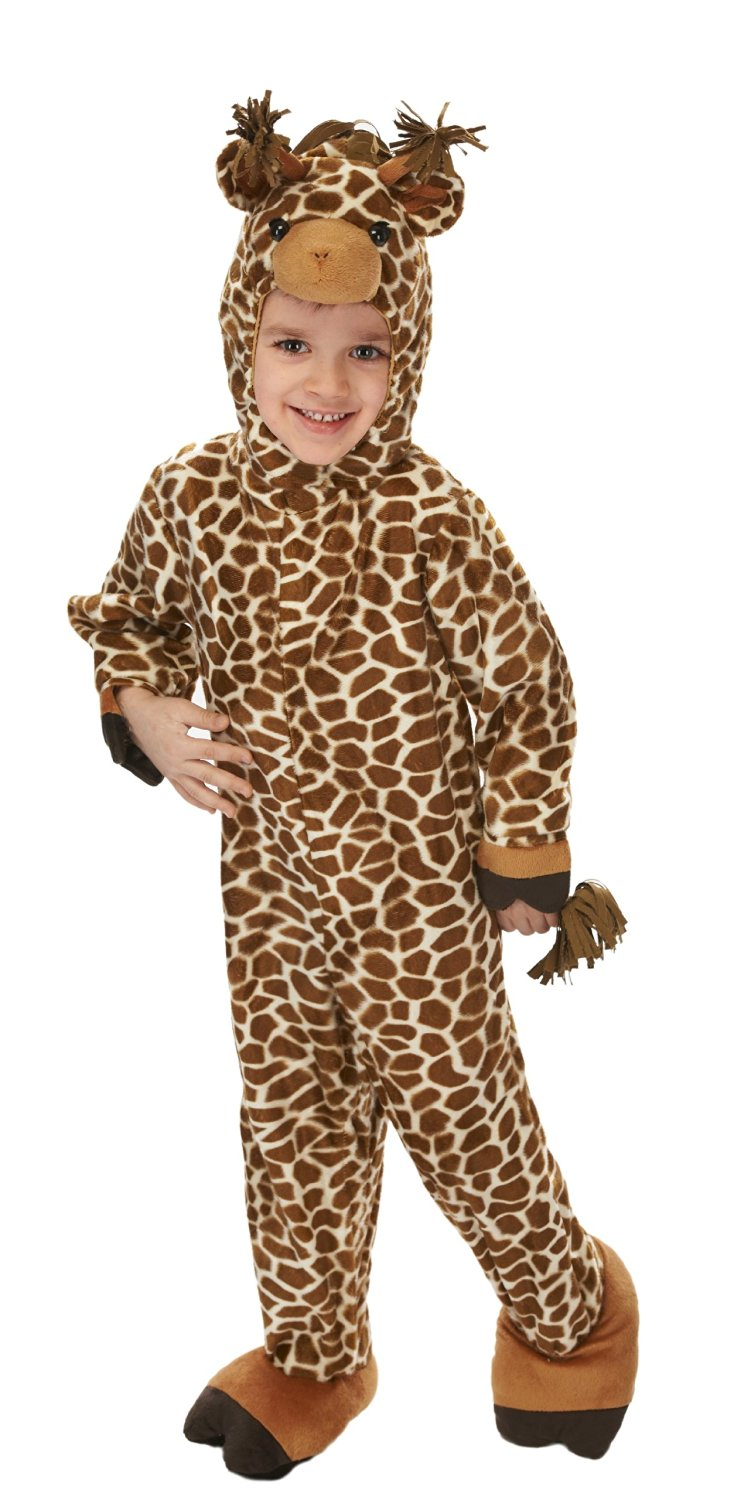 get quotations just pretend kids giraffe animal costume large