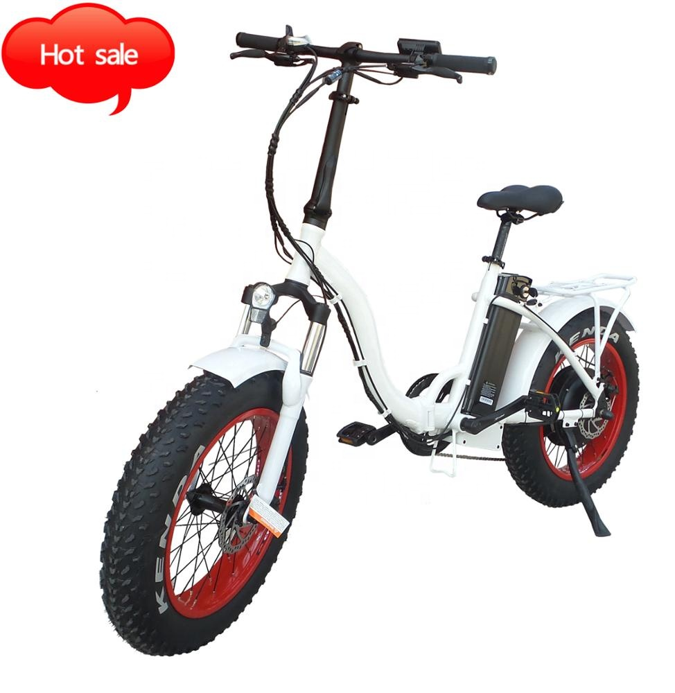 350W Folding E Bike Power Electric Bicycle ebike W/ 36V Lithium Battery 2 colors European