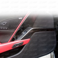 CARBON FIBER INNER HANDLE COVERS FOR 2014-2017 CHEVROLET CORVETTE C7