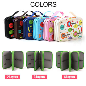 China factory wholesale high quality colorful plain pencil bag for student