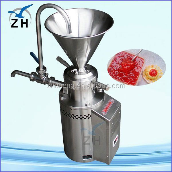 Stainless steel peanut butter/chili paste making machine