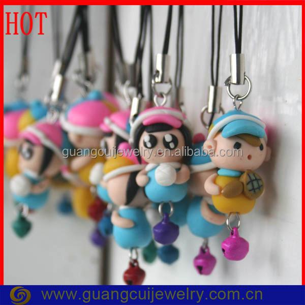 Customized Polymer Clay Boy And Girl Discount Designer Keychains ... 30c9c2b230ba