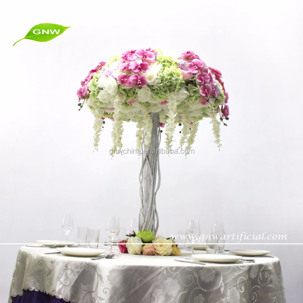 GNW CTR1604001 high quality indian wedding table decoration colorful centerpieces
