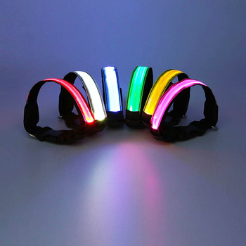 Best Selling LED Dog Collar Reflective Pet Collar For Walk Dog etc Pets