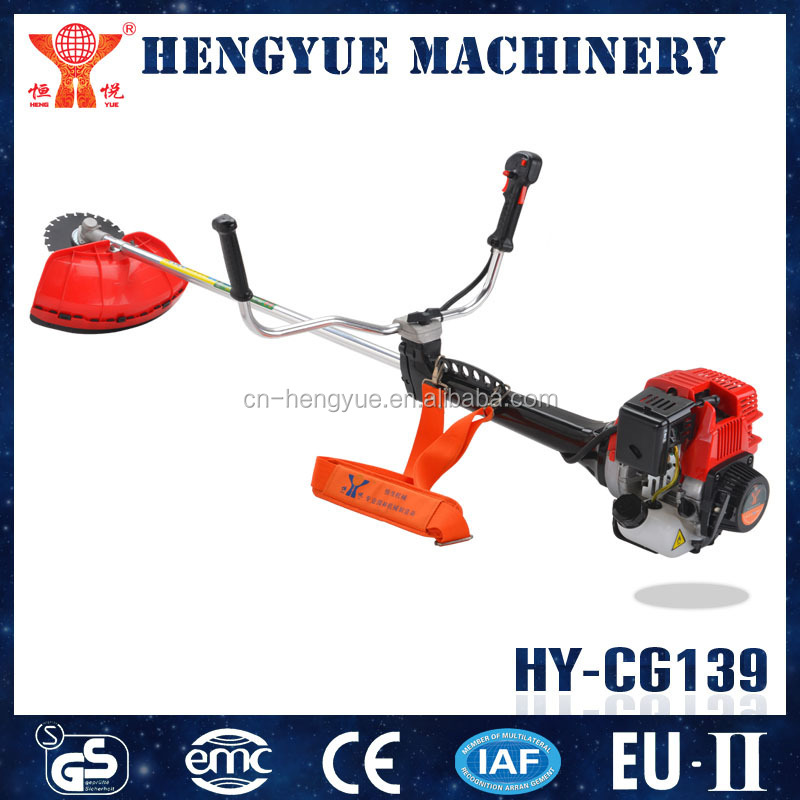 HY-CG139 engine 139F 4 stoke OHC backpack grass cutter