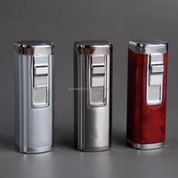 treble torch jet windproof cigar lighter, butane lighter with punch, refillable butane lighters wholesale