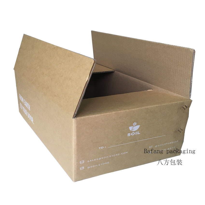 Factory price corrugated brown shipping boxes