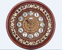 New Design Antique Wooden Wall Clock for home goods and gifts