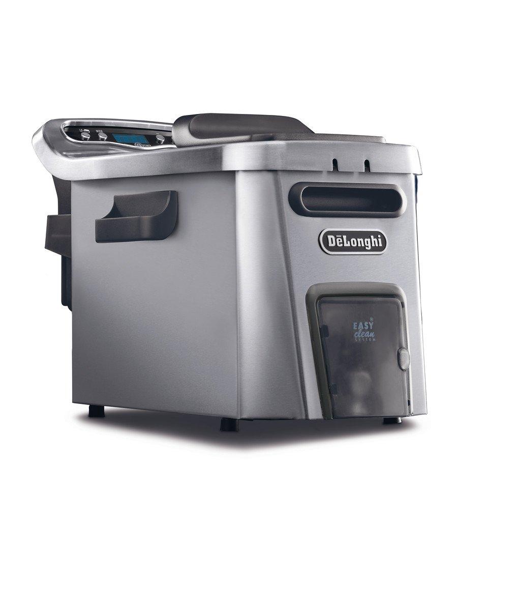 DeLonghi D44528DZ Livenza Easy Clean Deep Fryer, Silver