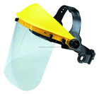 CE EN166 Clear Plastic Face Shield PC Visor