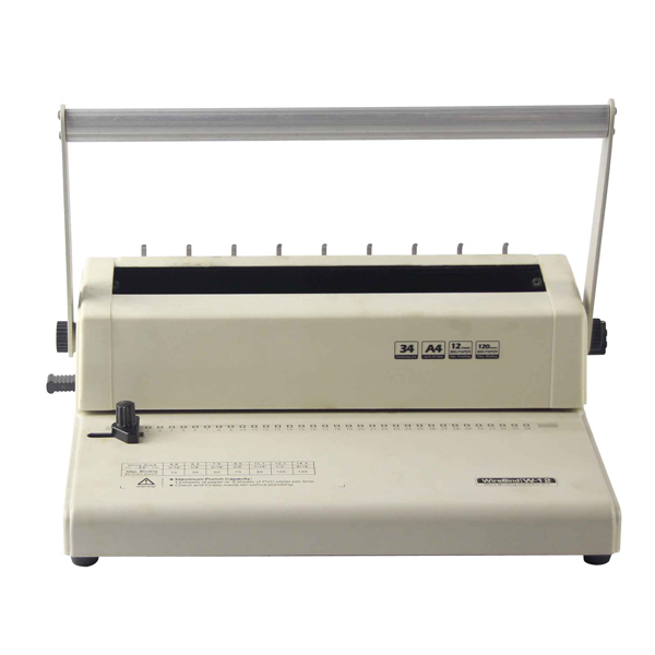 Easy For Bind Cheap Mini Wire Manual 3:1 Pitch Wire Binding Machine W12 -  Buy Wire Binding Machine,Wire Binding,Cheap Wire Binding Machine Product on  Alibaba.com