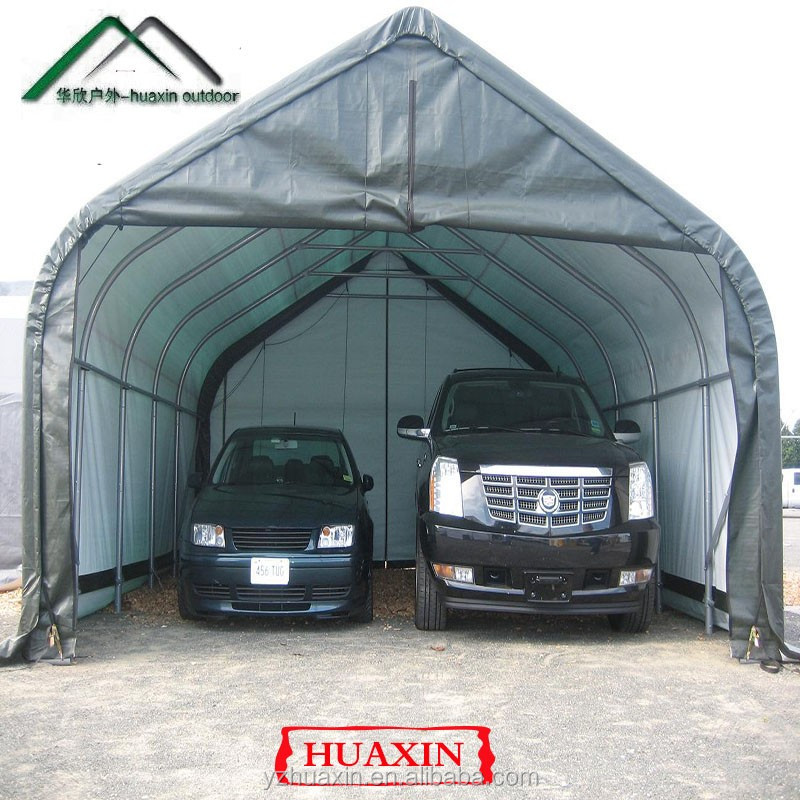 Metal Vehicle Shelters : Portable car tent high quality auto umbrella roof