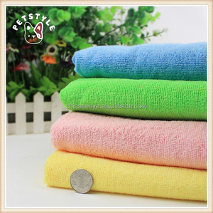 Dog bath cleaning towl microfiber pet drying towel