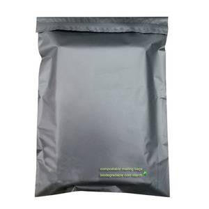 Custom logo compostable shipping postage bags biodegradable Corn starch poly mailer for clothing