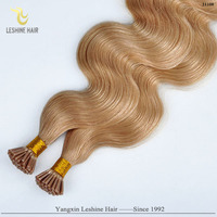2014 Wholesale Fusion Italian Keratin body wave Brazilian keratin hair chocolate