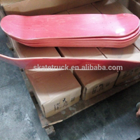 Canadian Maple Blank Skateboard Deck in high quality