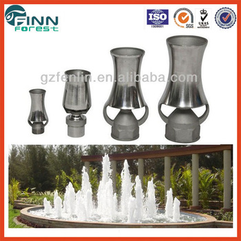 Pool Water Fountain Nozzles Garden Pool Cascade Nozzles Buy Cascade Nozzles Pool Fountain