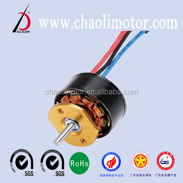 micro brushless dc motor CL-WS1411W,remote control aircraft bldc