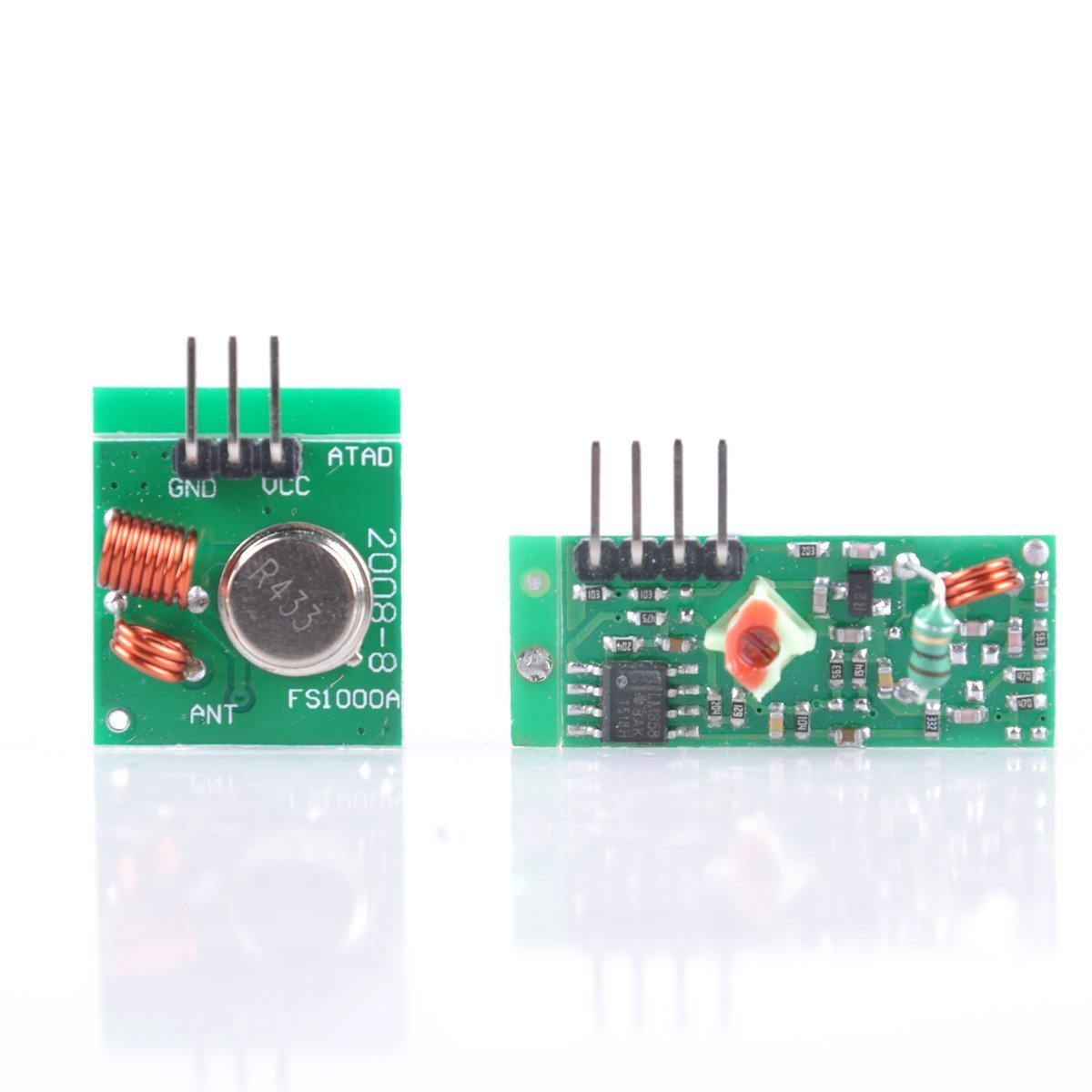 Cheap Rf Transmitter Module 433mhz Find Rf433 Rx This A Simple Which Operates At The Get Quotations Greatwell 1pcs Wireless And Receiver Link Kit For Arduino Diy Arm Mcu