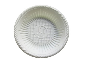 4 inch Bio-plastic disposable round plate