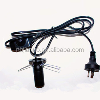Salt Lamp Electrical Cord With Dimmer : Dimmer Lead,Salt Lamp Power Cords With Australian Plug - Buy Dimmer Lead Product on Alibaba.com