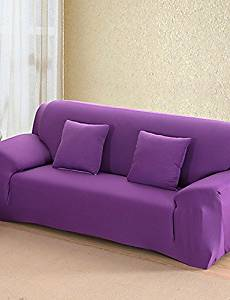 Get Quotations Zq Solid All Inclusive Sofa Towel Slipcover Slip Resistant Fabric Elastic Cover