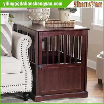 en bois meubles pour animaux de compagnie int rieur bois chien chenil buy product on. Black Bedroom Furniture Sets. Home Design Ideas