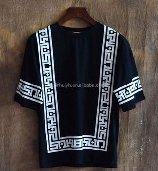 0ad1deda83d Half Sleeve Baseball Hip Hop T-shirt Religion Geometric Bandana Shirt  Vintage Rock Tee Shirts