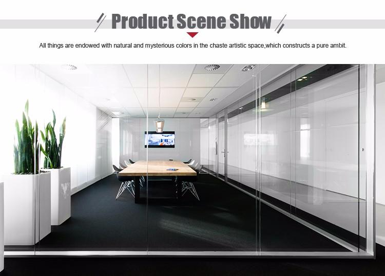 Mamparas de oficina precios good mampara vidrio continuo for Mapfre oviedo oficinas