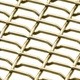 Durable SS FeCrAl Brass decorative crimped wire mesh/ net