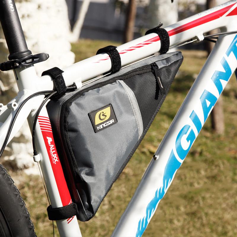 Kingsir Brand Waterproof Cycling Front Triangle Bag