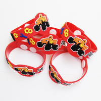custom rubber pvc bracelet/3d wristbands