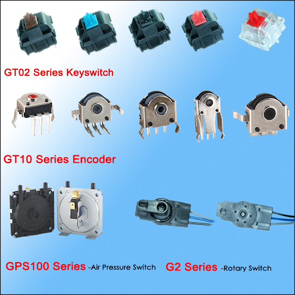 Greetech widely used in industry control sealed DPDT limit micro switch