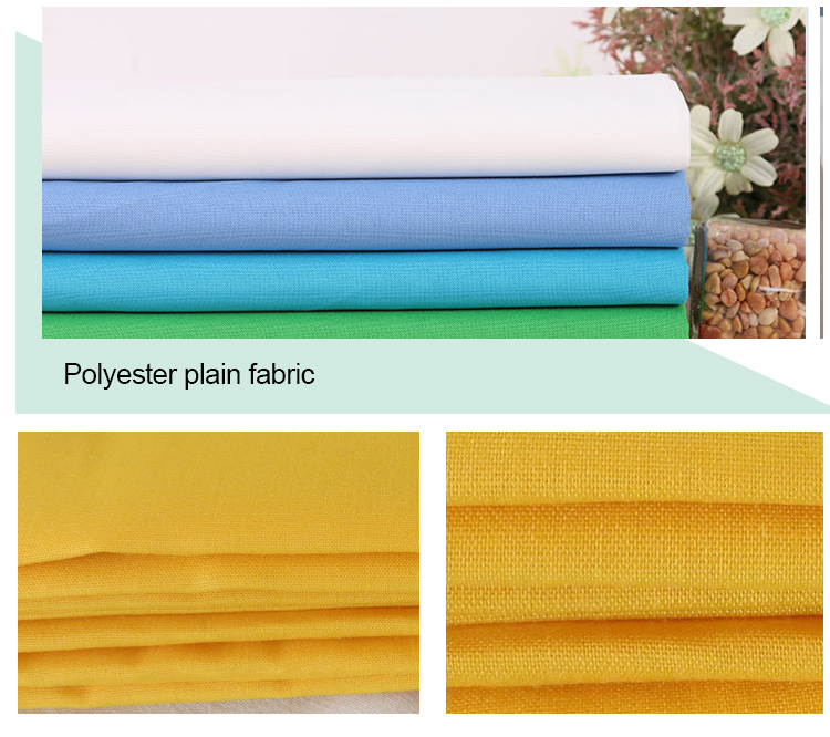 cheap windproof polyester cotton for bedding fabric
