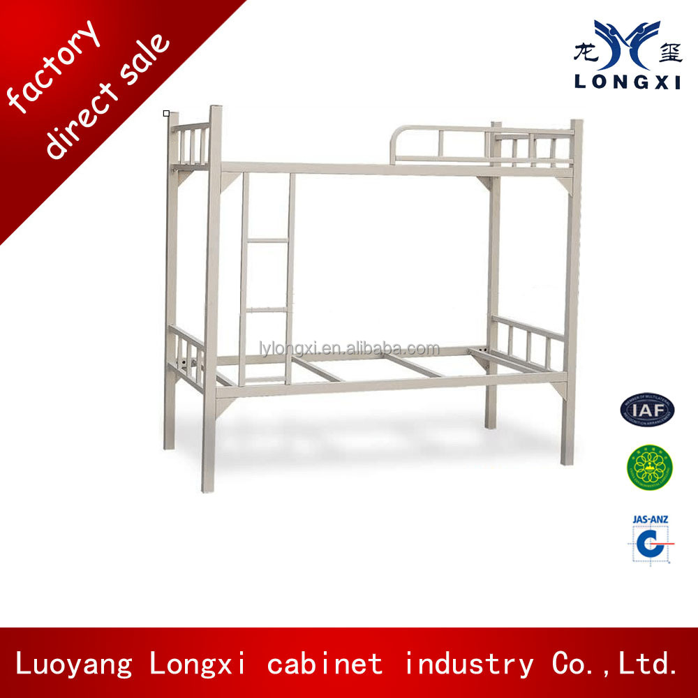 Fine quality College SCHOOL FURNITURE Dormitory Student Double Deck Bed/With Two Drawer Metal Bunk Bed/Steel Bunk Bed Prices