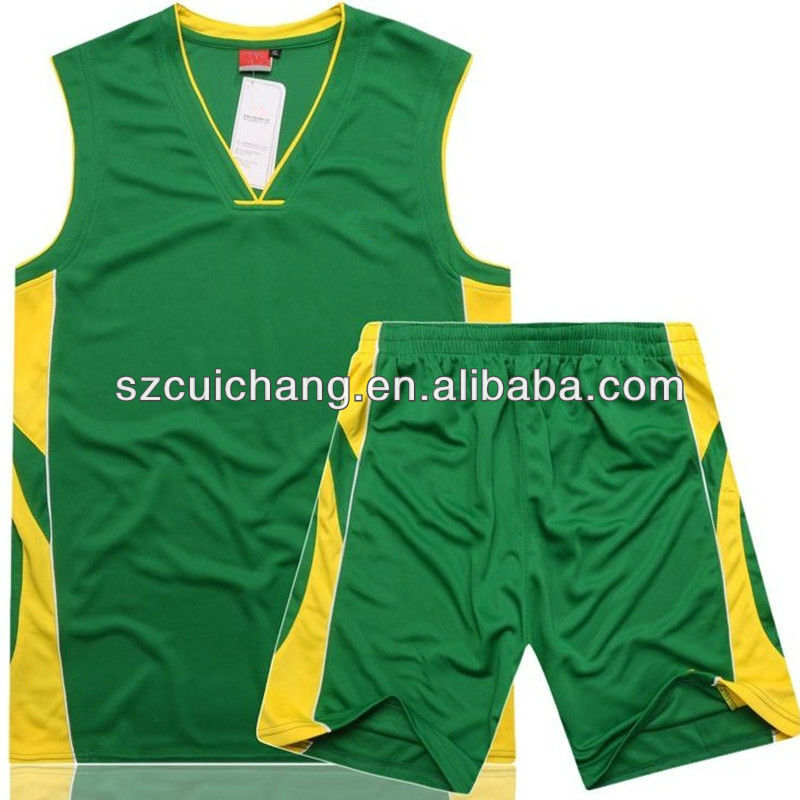 trendy European basketball uniform design