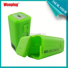 2014 newest designed top sales AA batteries s4 mini charger case/power bank for mobile phone