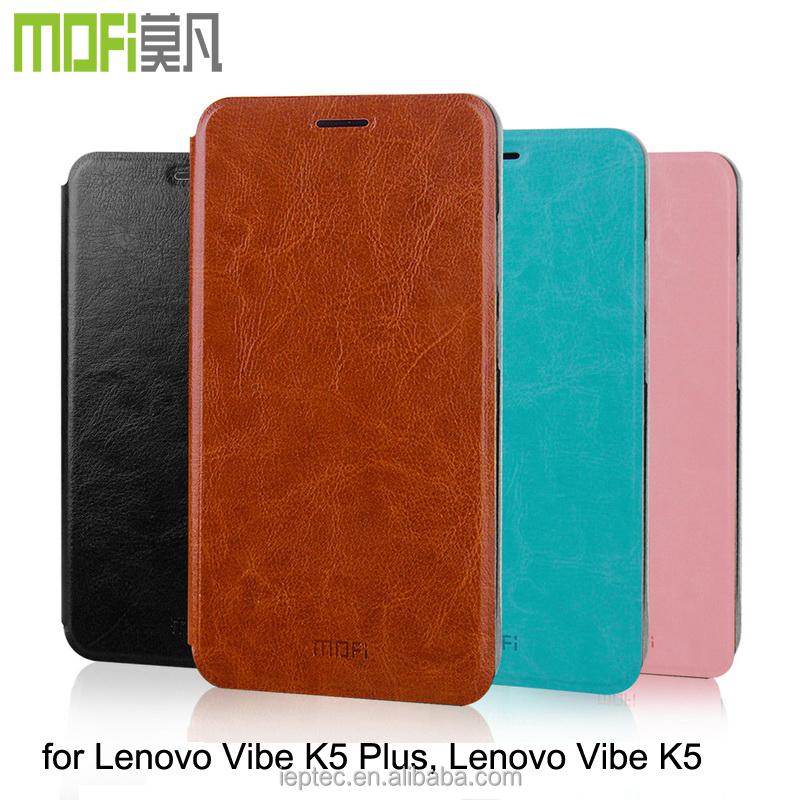 Mofi Case For Lenovo Vibe K5 PlusLenovo K5Flip Pu Leather Phone Cover Plus