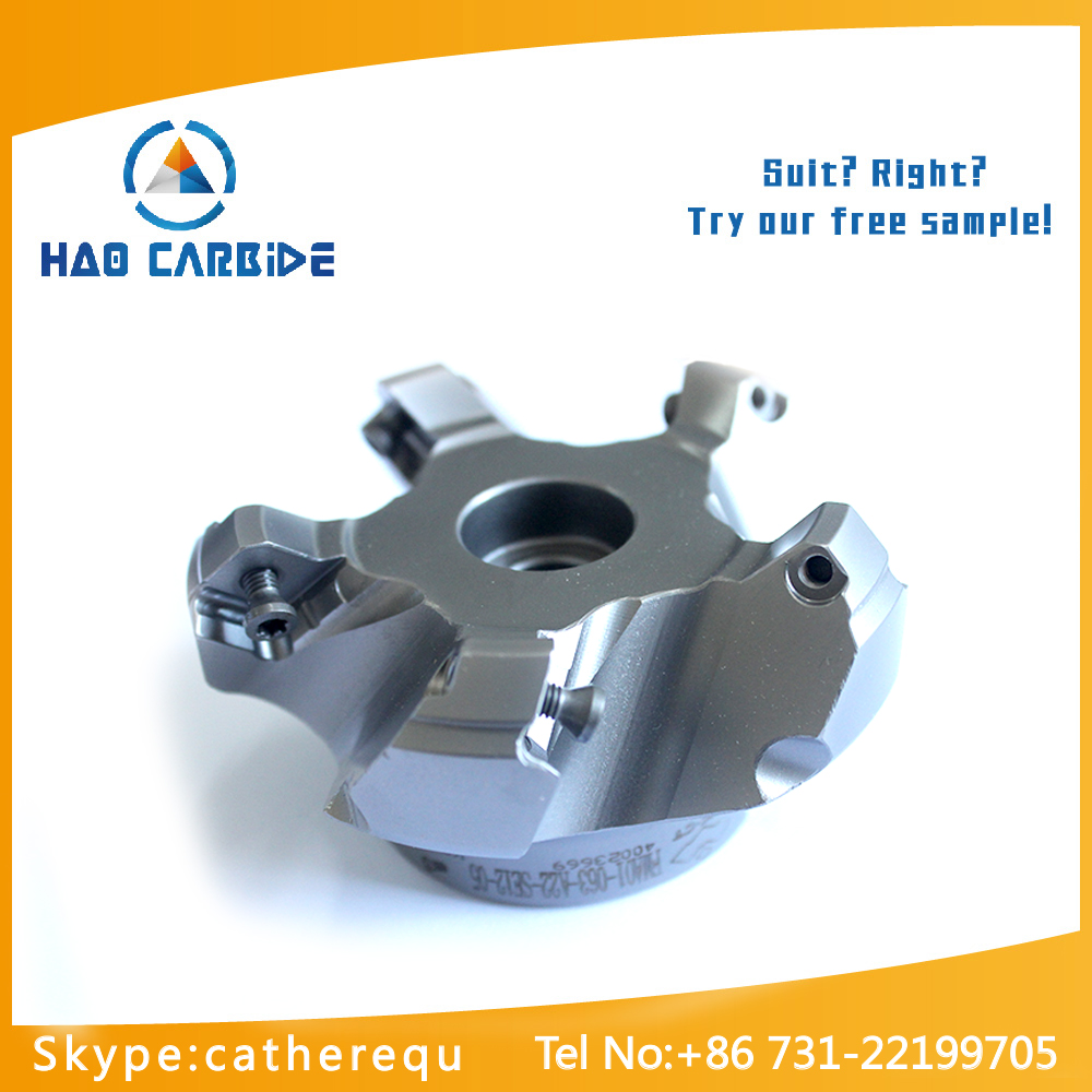 Indexable face milling cutters, cnc milling tools