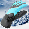 Top Quality Outdoor Waterproof Warm Cotton Sport Ski Gloves Men Winter Cold Windproof Skiing Gloves Coldproof
