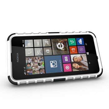 New Arrival Rugged Hard Robot Phone Cases For Nokia Lumia 530 Stand Holder Kickstand Case