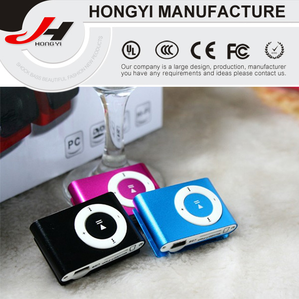 Card Small Clip MP3 Classic Mini MP3 Can Be Customized LOGO MP3 Player