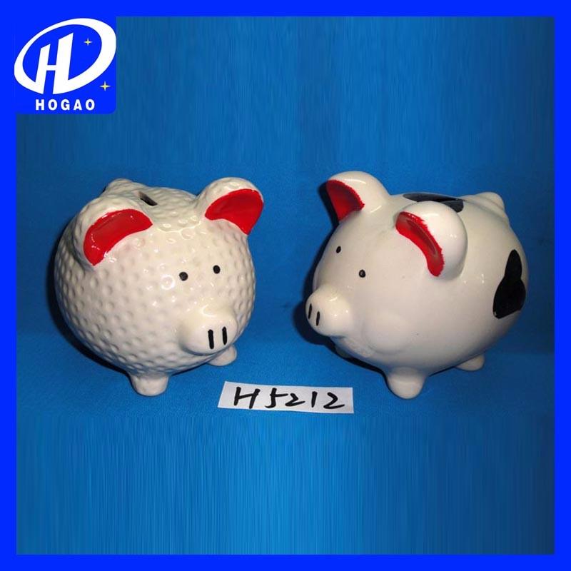 Cute Money Box Wholesale Ceramic Piggy Banks For Sale