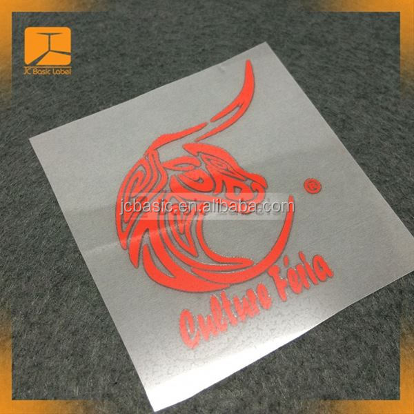 t-shirt, sportswear, clothing custom printing 3d logo silicone heat transfer label